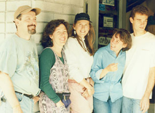 Opening Day September 1, 1994 with the Original SNAC Sonora Staff: Shawn, Jill, Tonja, Hope & John