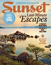 SNAC Murphys hits Sunset Magazine, August 2013!