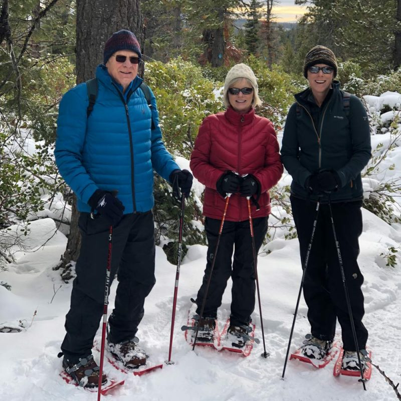 Snowshoe rentals in Arnold and Sonora, CA