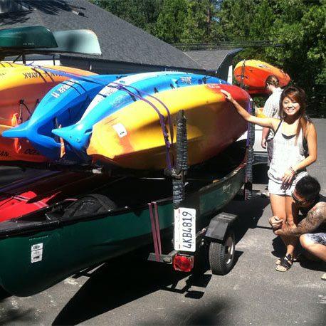 Kayak Trailer Rentals in Arnold, CA